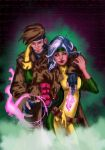 Gambit And Rogue by 626Ghost