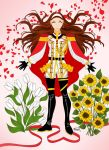 SUNFLOWERS OR WHITE TULIPS by One-Winged-angel-5