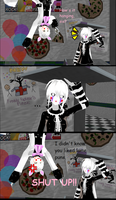 [MMD] Toy Foxy (Mangle) and Puns by ZexionStrife