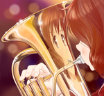 Kumiko and her eupho by candide1337
