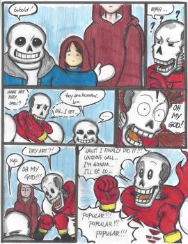 One Punch Tale - Ep.3: The Skeleton Brothers pg12 by Cashopeia