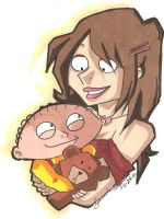 Sadie and Stewie by Swamnanthas