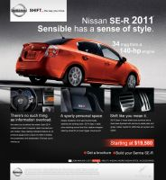 Nissan SE-R web page by Forza27