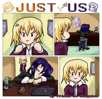 JUST US - The Making Of by Prince-in-Disguise