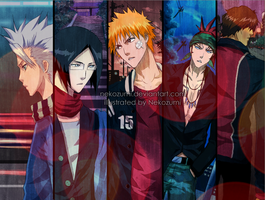 BLEACH - These streets by Nekozumi