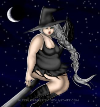 Fat: Witch v.01 by sleepless-katith