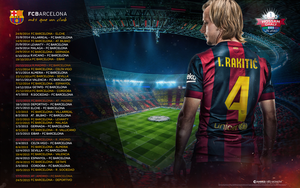 barca fixtures 2014/15 by POROANARKY