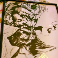 Framed Big Boss by DelanceyThrone