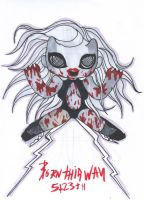 Born This Way Chibi 3 by GAGAISMYSOUL