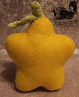 Paopu Fruit Plush - Kingdom Hearts by Forge-Your-Fantasy