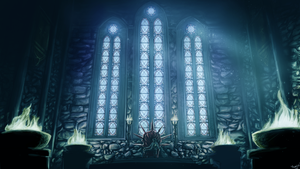 Dragon Age Inquisition Skyhold Throne by BladeRazors