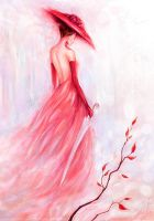 lady in red by Manticora-Miorro