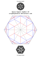 Space Aspect Crease Pattern by OrigamiPhoenix