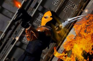 Deathstroke:Injustice - Attack by Cadmus130