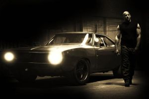 Dominic Toretto by AMANDABOMINATION