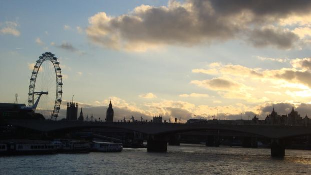 London skyline by ladyspuds