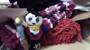 Dragon Age Morrigan Plush by TRFan1999