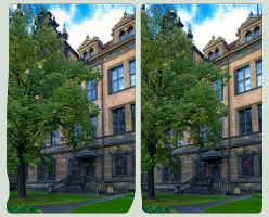 Residenzschloss Dresden 3D ::: Cross-Eye HDR by zour