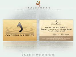 Coaching Business Card by fredpsycho83