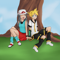 Point Commission - Leaf and Len by Eifi--Copper