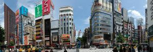 Shinjuku Panorama I by MarcAndrePhoto