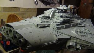 BELLATOR CLASS STAR DESTROYER COMPLETED 9 by THE-WHITE-TIGER