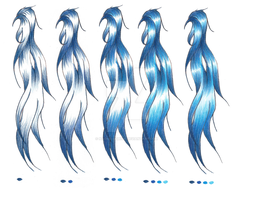 color prosses for blue hair by Naoko-uchiha