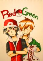 Red and Green by oOCreamyCupcakeOo