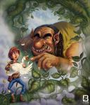 Jack and the Beanstalk by LindseyBell