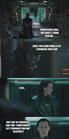 The Avengers - Fury vs Loki by yourparodies