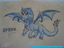 .:lyrica the dragoness:. by drazzy-the-dragoness