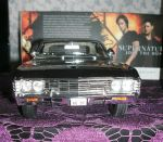 Supernatural diecast Impala by Themystichusky