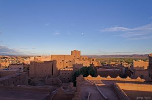 The door for the desert  (Ouarzazate, Morocco) by agelisgeo