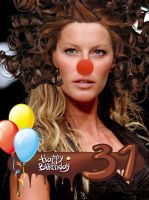 Happy Birthday Giselle Bundche by picturizr