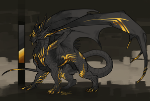 Design Commission:. Dragon by Remarin