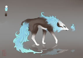 AUCTION Blue Flame Adopt CLOSED by Vallume