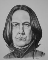 Two year Snape by tripperfunster