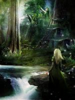 Where Elven Folk Play by InertiaK
