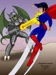 Mighty Girl Zero 2 by Rogelioroman ICB Darcsyde by THE-Darcsyde