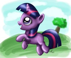 Filly Twilight Sparkle by Slinkycraft