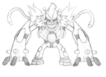 Graveyard:Unfinished fusion by Esepibe