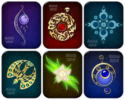 Magic items adopts 1 (CLOSED) by Rittik-Designs