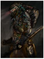 predator colored 2 by sideshow-pin