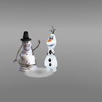 Olaf's Creepy Cousin by monstermaster13
