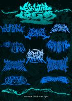 Brutal Logos wave 2 by PiTY91