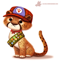 Daily Paint #1078. Cub Scout by Cryptid-Creations