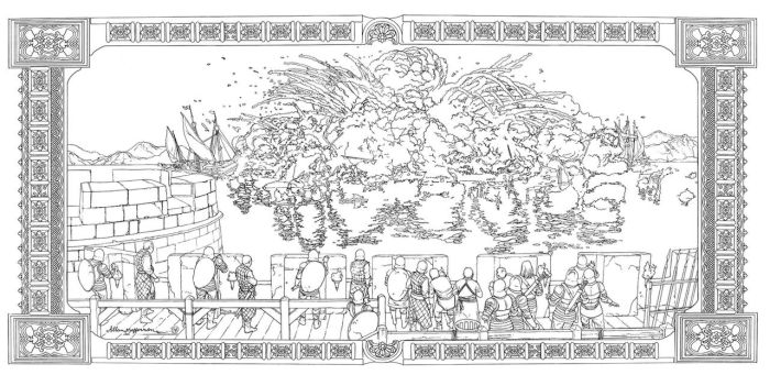 Game Of Thrones_ Coloring Book_ 13 by AllJeff