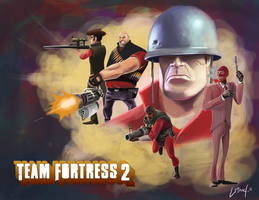 Team Fortress 2 by DanielPLackey