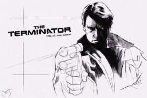 31 Days of Horror: The Terminator by Deimos-Remus