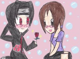 I Got You This Rose by DomoDC